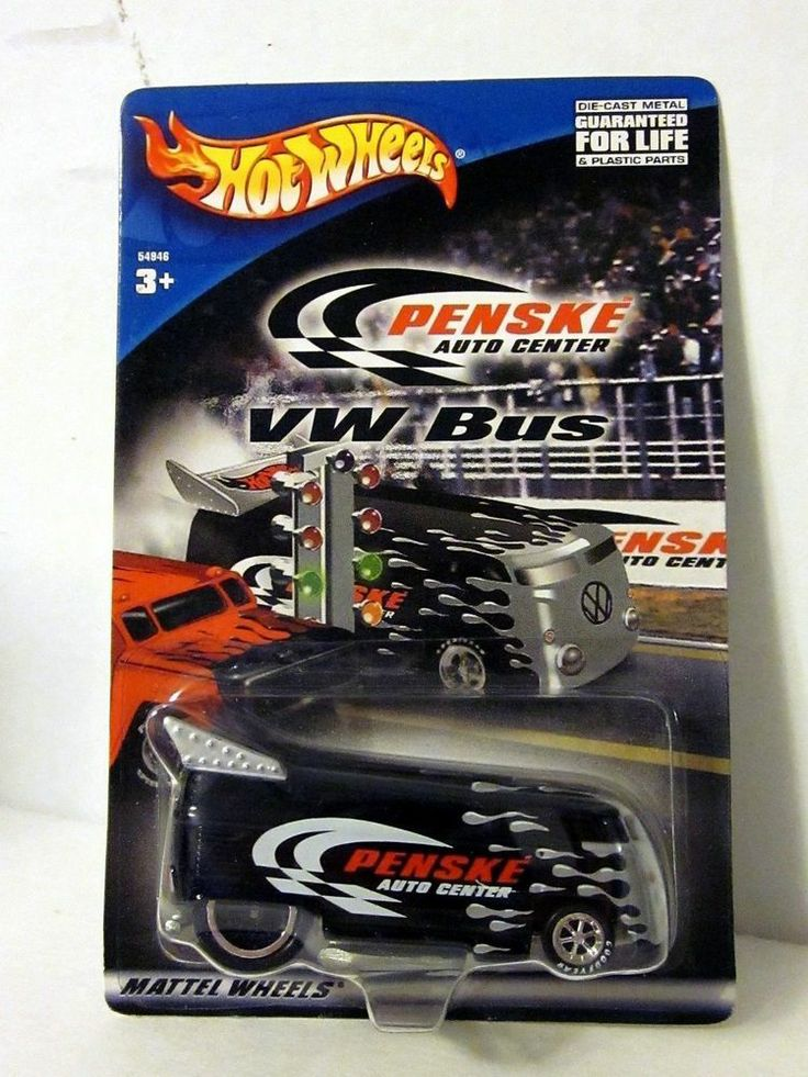 "Hot Wheels Black "" PENSKE "" VW DRAG BUS"