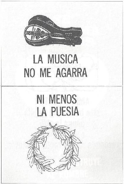 La música no me agarra