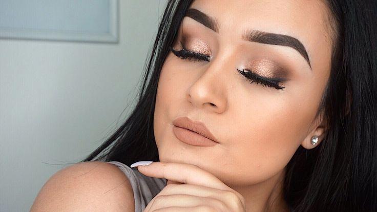 Maquillaje Glamuroso para Principiantes | Paso a Paso Basico | Monika Sanchez - YouTube