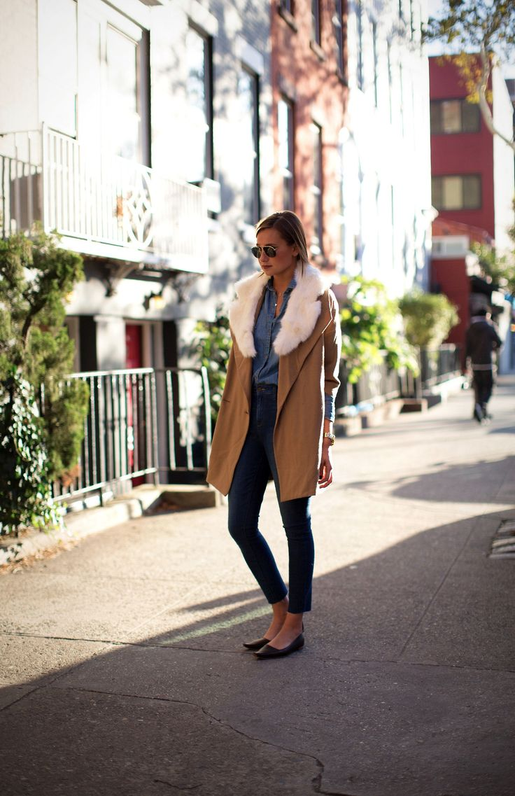 Camel coat with a twist |weworewhat