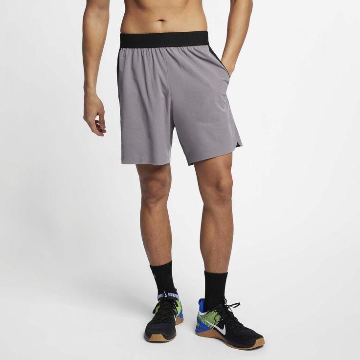 NIKE Shorts & # 39; Flex Repel 4.0 & # 39; Herren, Dunkelgrau / Schwarz, Größe XL   – Products