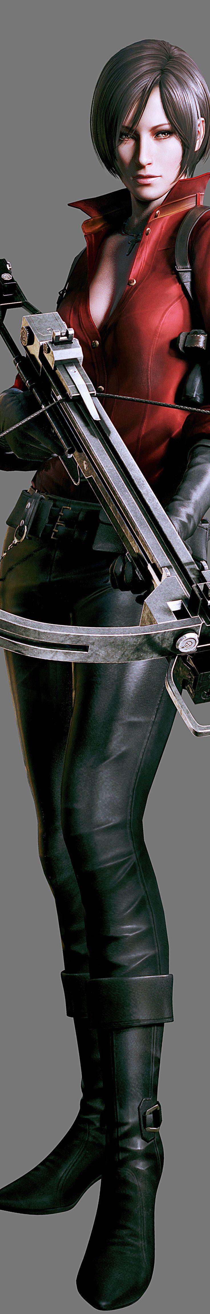 Ada Wong - Resident Evil Render