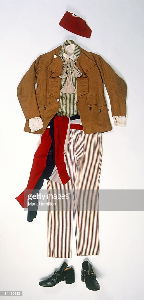 Stock Photo : Example of French Revolution era clothing of the Sans Culottes