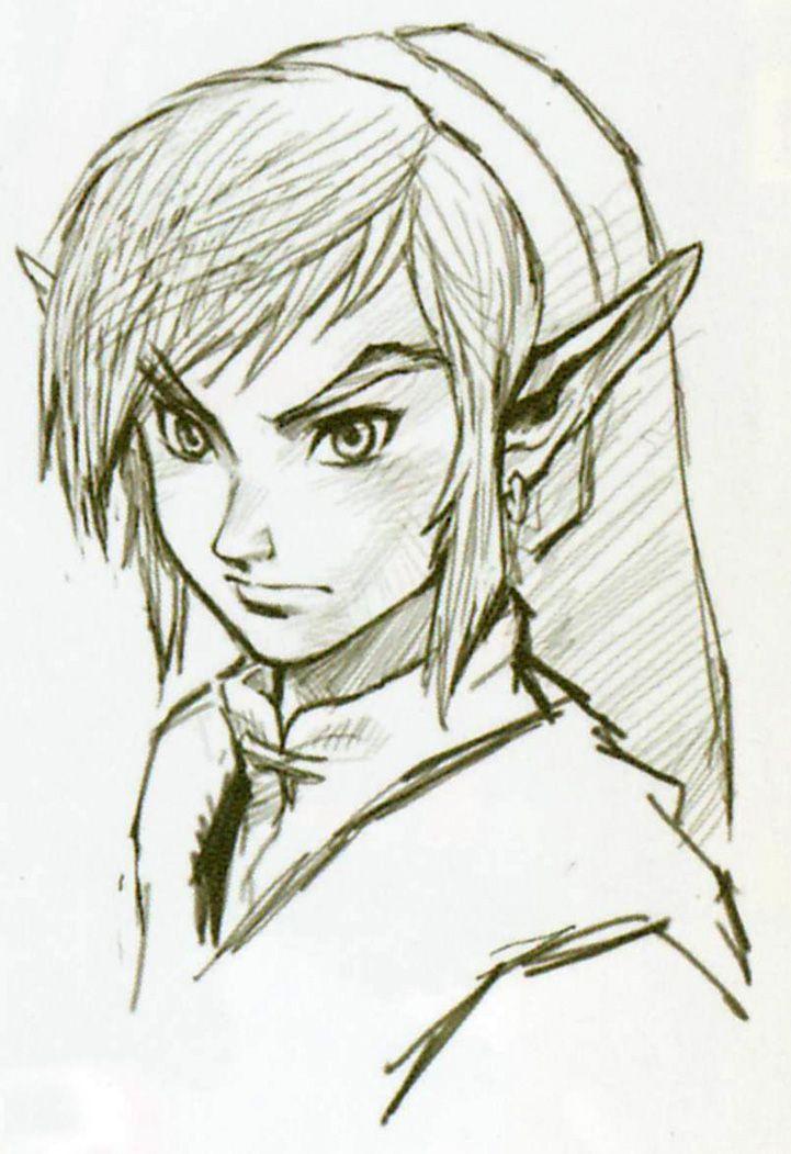 The legend of zelda Twilight Princess Daily Nintendo Concept Art 10