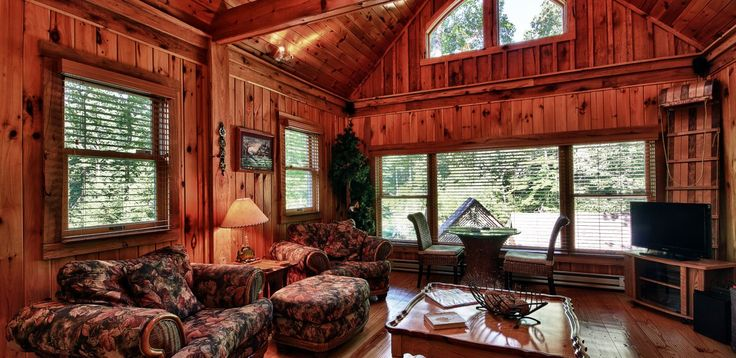 7 Best Log Cabin Window Treatments Images On Pinterest