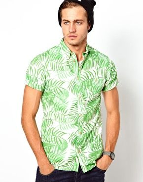 Solid Shirt with Short Sleeves $72.48