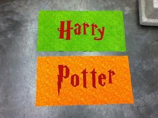 Harry Potter borders