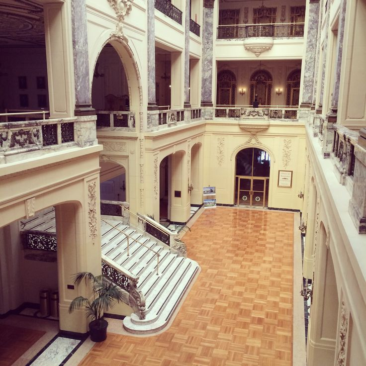 Mansion Foyer University : Woodrow wilson hall at monmouth university architectural