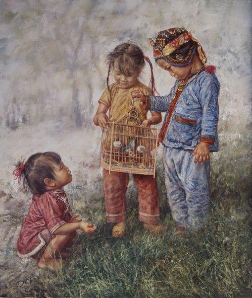 Wai Ming Paintings   ARTIST WAI MING - Asian Oriental Chinese Fine Art Artwork Paintings ...