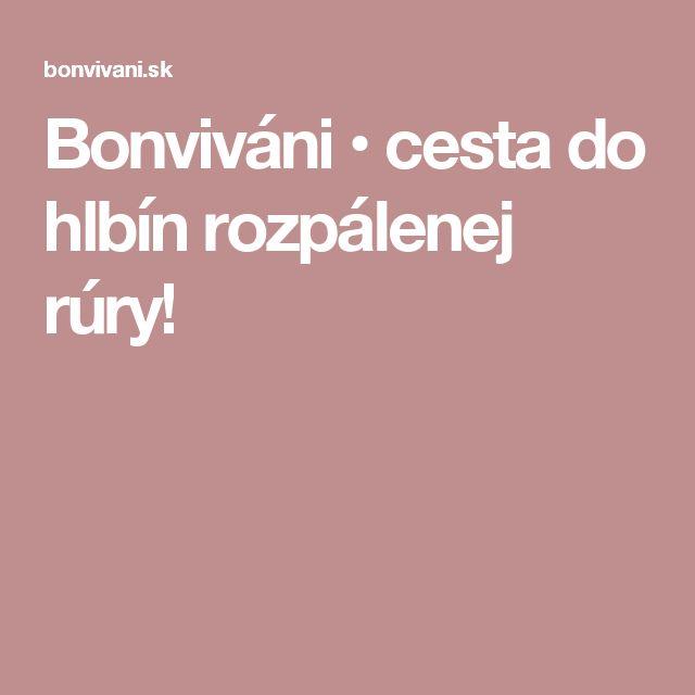 Bonviváni • cesta do hlbín rozpálenej rúry!