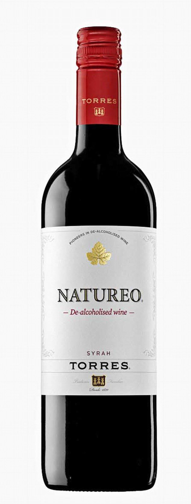 Torres Natureo Red 0.5 per cent, £4.79 (was £5.99), Waitrose. Until now, this juicy Spanish red had little competition when it came to low-alcohol reds