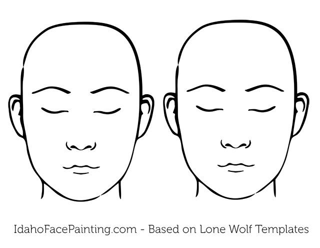faces-printable-foreheads-bigger Facepaint Face painting