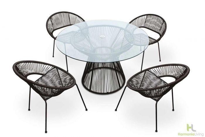 Harmonia Living Acapulco Lounge Chair Modern Outdoor Lounge Chair Modern Outdoor Lounge Lounge Chair Outdoor