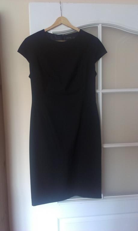 ZARA czarna sukienka  L
