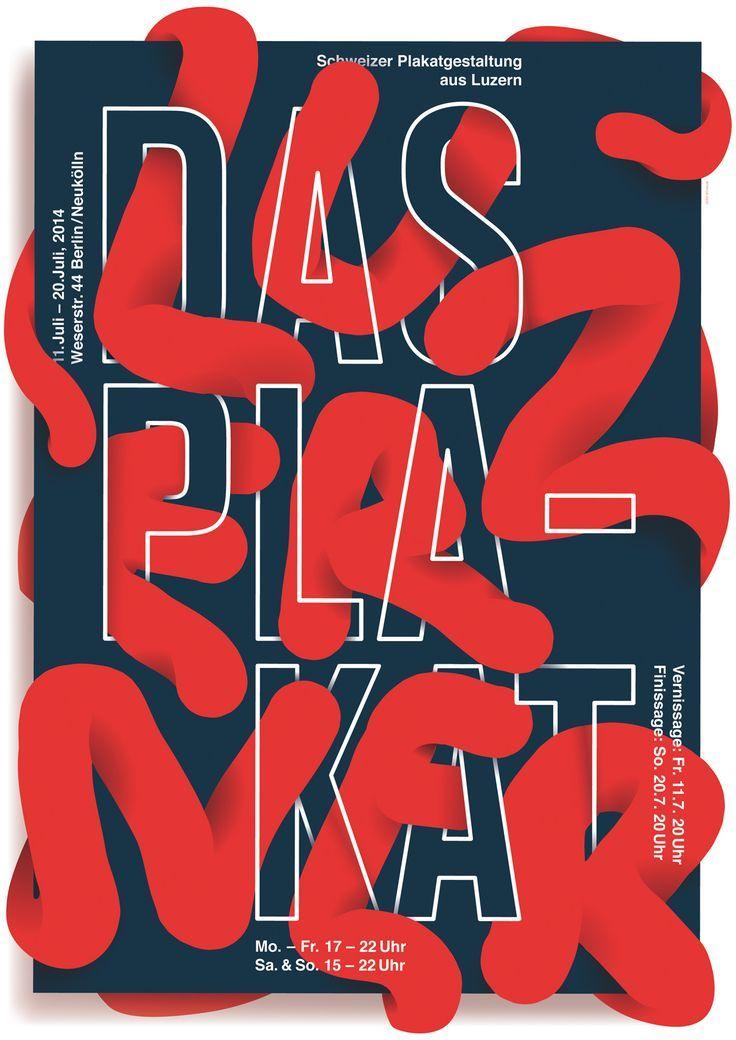 30 affiches avec un travail typographique original – Inspiration graphique #12