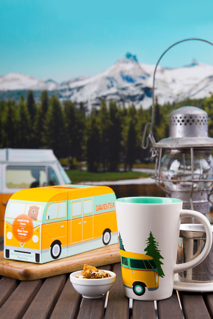 Going on a camping adventure? Make sure to pack plenty of snacks and of course, tons of tea! From delicious autumn-inspired blends to rich, decadent treats, we've got everything you need to fuel all your wild excursions. What are you waiting for? Get exploring!