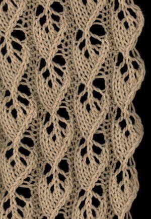 Charted stitch.