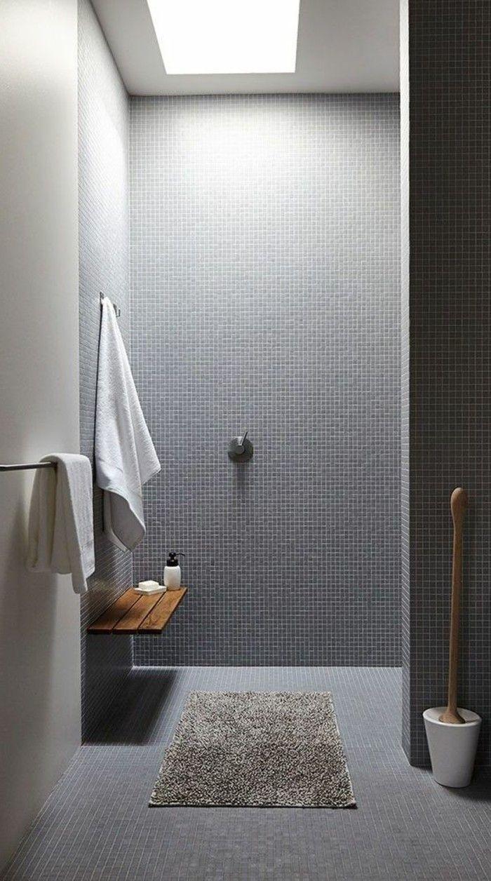 Les 25 meilleures id es de la cat gorie banc de salle de bains sur pinterest banc dans douche - Porte serviette salle de bain conforama ...