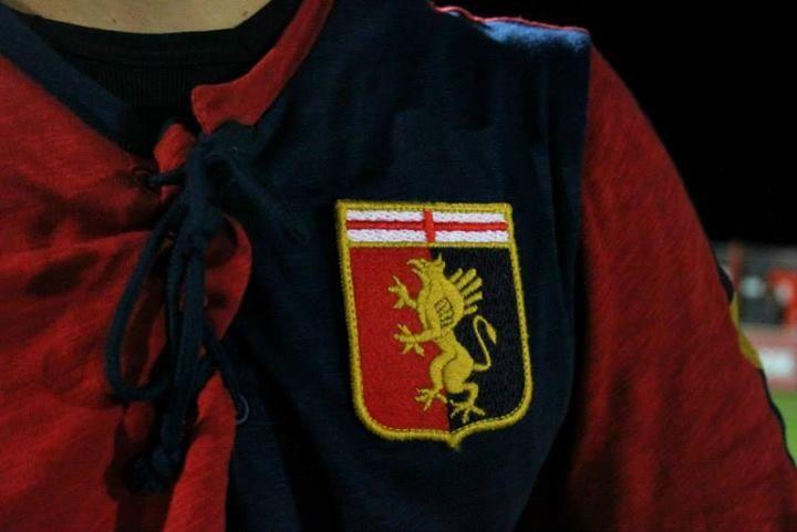 Genoa shirt detail, Pioneers Cup 2013