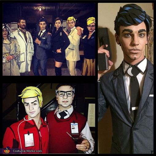 The Archer Cast - Halloween Costume Contest via @costume_works