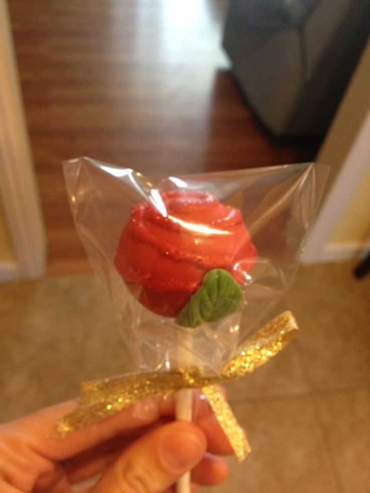 Beauty And The Beast Cupcakes And Cake Pops!
