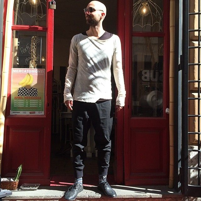 #sunglasses #trussardi #tshirt #lostandfound #tshirt #rickowens #trousers #neilbarrett #shoes #marsell