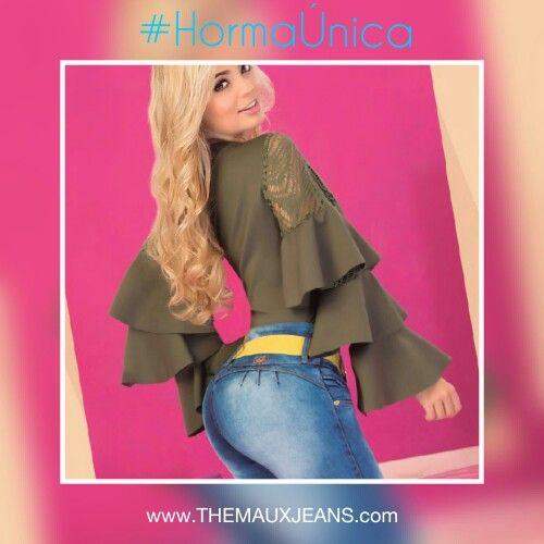 Sonreír es la segunda mejor cosa que puedes hacer con tus labios. 💜👖🌺 Con #TheMauxJeans todos los días son para brillar.  www.THEMAUXJEANS.com  Comunicate con nosotros a nuestra línea/whatsapp +57 311 287 77 98 para mas información.  #tendency #love #outfit #outfitoftheday #fashion #moda #hermosa #negocios #bussiness #trend #fashonwomen #jeans #blusas #denim #ropafemenina #negocios #look #girly #femme #glamour