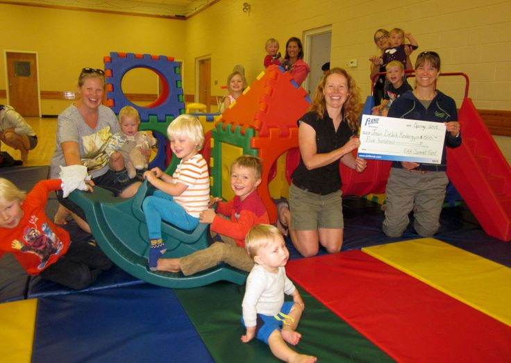 This summer the Fernie Alpine Resort Community Summit Fund donated $500 to the Joan Delich Kindergym Society to help purchase equipment and learning supplies for the little ones!