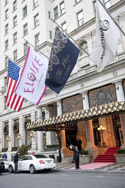 The Plaza Hotel- where I married my best friend.