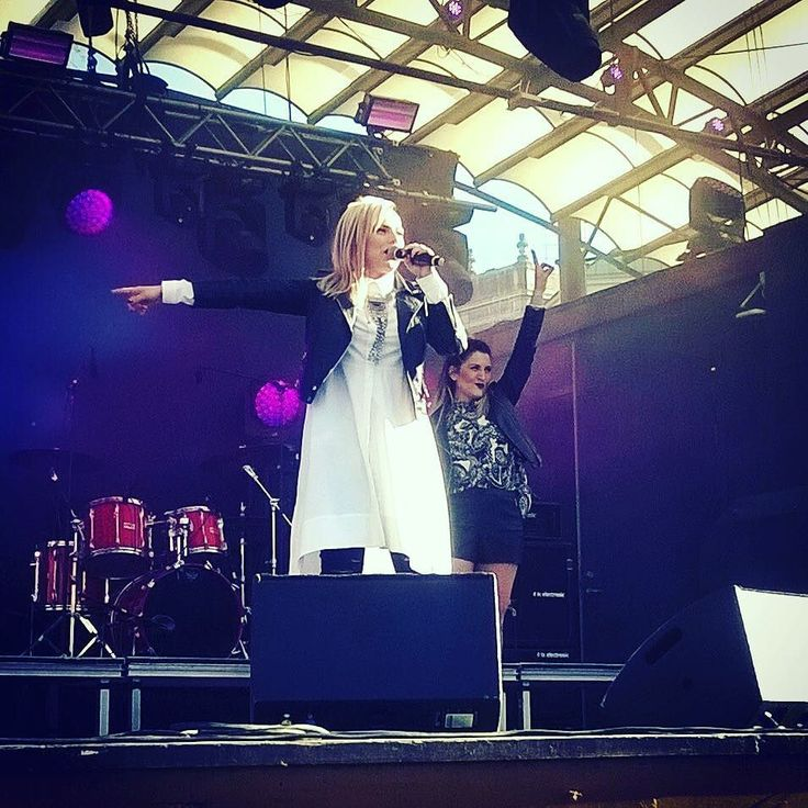 It was a honor for me to be the first artist to perform on the stage  in #eurovillage #poligenova #ILWAC #Bulgaria #eurovision by poli.genova #Eurovision #Eurovision2016