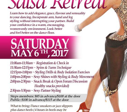 ANNUAL WOMEN'S SALSA RETREAT | TorontoDance.com
