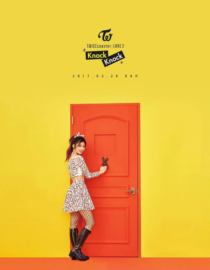 TWICE SPECIAL ALBUM <TWICEcoaster : LANE 2>  SANA KNOCK KNOCK 2017.02.20 0AM   #TWICE #트와이스 #KNOCKKNOCK