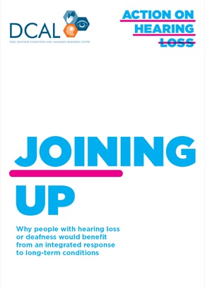 Action on Hearing Loss Report: People with Dementia and Hearing Loss Failed by Lack of Joined-Up Health Care