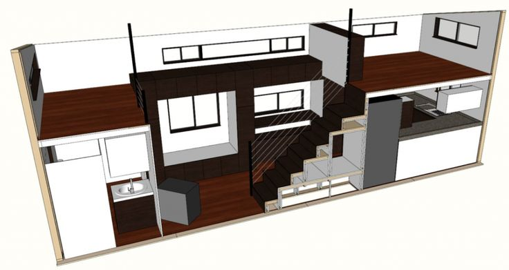 sketchup tiny house plans - Google Search | Small house
