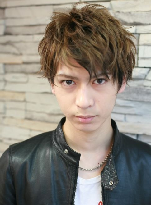 外国人風 ミックスカラーのセクシーヘア 【ROOTS】 http://beautynavi.woman.excite.co.jp/salon/27983?pint ≪ #menshair #menshairstyle・メンズ・ヘアスタイル・髪形・髪型≫