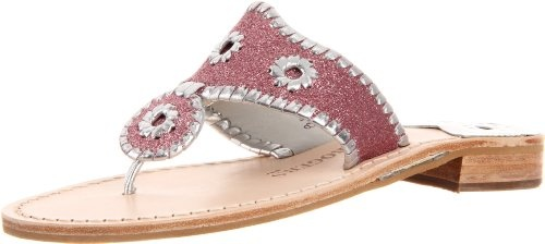 #Jack Rogers Women�s Glitter Navajo Thong Sandal, Pink/Silver women womens women's woman womans woman's footwear foot wear fashion style dress work working casual career bootie booties boot boots clog clogs flat flats flip flop flip flops heel heels loafer loafers mule mules platform platforms pump pumps sandal sandals sneaker sneakers wedge wedges runner runners running shoes shoe  #Heeled Sandals #2dayslook #Heeled fashion #sandalstyle  www.2dayslook.com