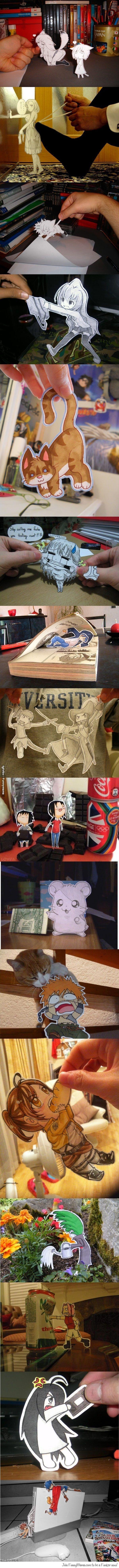 Paper child manga!!