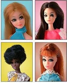 Dawn Dolls from the 1970s. Anyone else remember these? I had Dawn, Angie, and Gloria