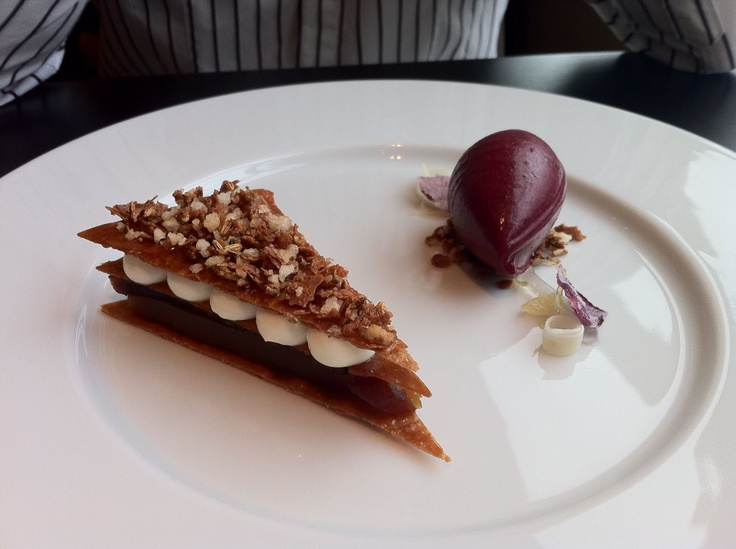 Taffetty Tart Dinner by Heston Blumenthal London
