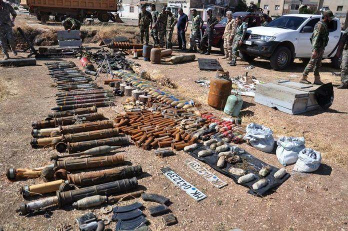 Noticia Final: Em imagens: Exército sírio confisco armamentos isr...