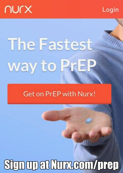 Nurx is the fastest way to get #Truvada for #PrEP! Sign up now at http://nurx.com/prep   #HIV #HIVPrevention #EndAIDS #AIDS #LoveIsLove #LGBTQ #LGBT #PrEPWorks #App #TechForGood #Tech4Good
