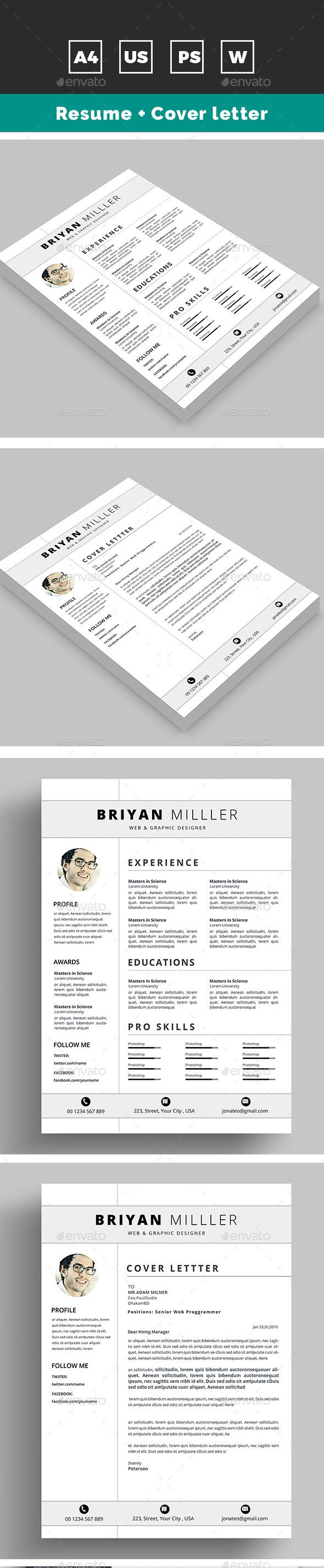 Best ResumeS Images On   Resume Resume