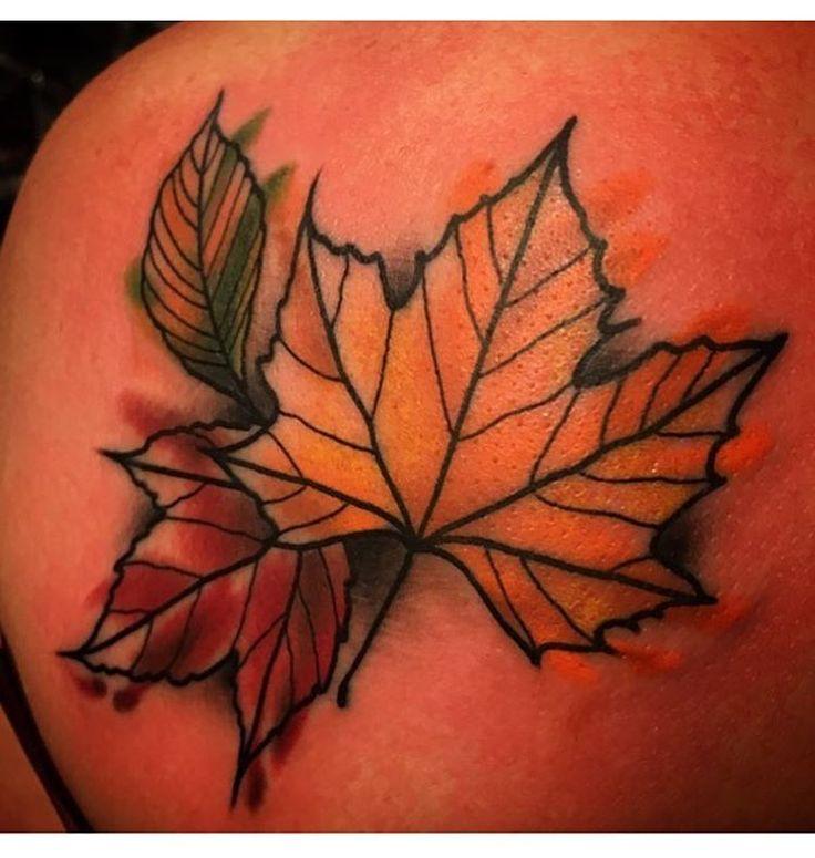 ber ideen zu autumn tattoo auf pinterest blatt. Black Bedroom Furniture Sets. Home Design Ideas