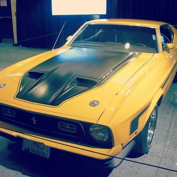 #Ford Mustang Mach 1