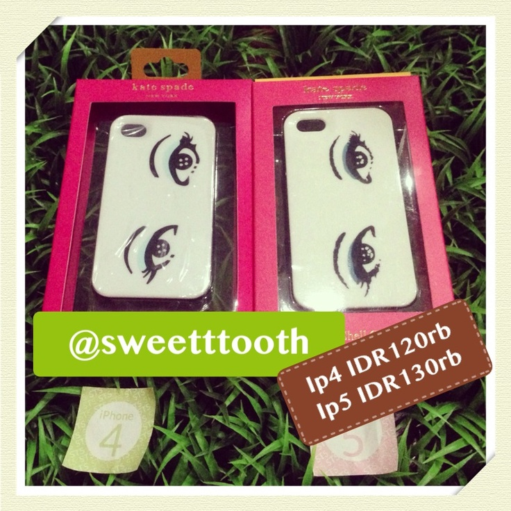 Kate Spade new eyes for iphone 5, IDR130.000