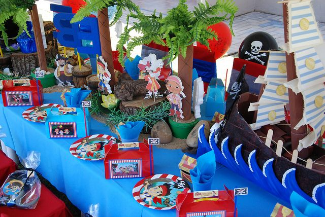 Jake & the Neverland Pirates Party