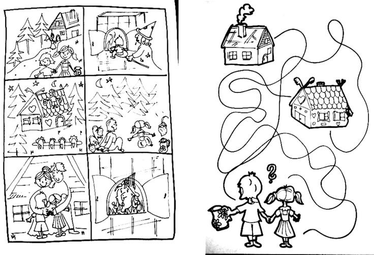 Perníková chaloupka - námět projektu včetně pracovního listu.