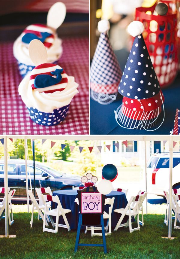 nautical birthday pinwheels whales nautical party themessailor - Nautical Party Decorations