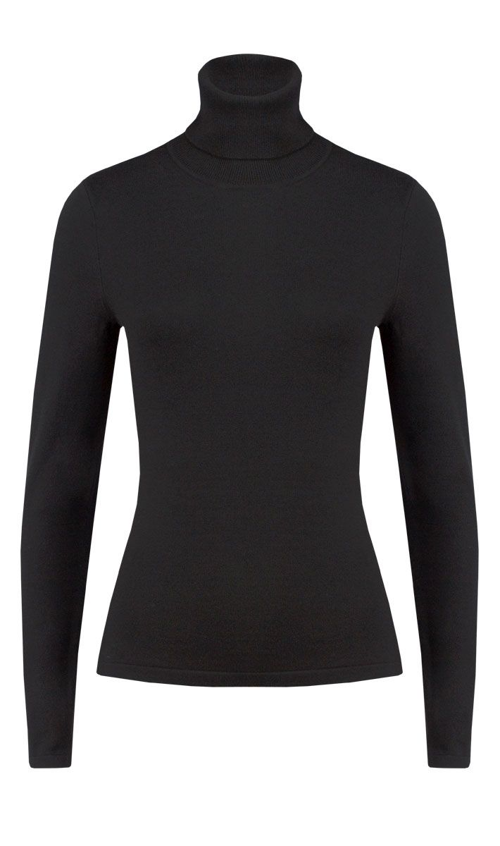 Kettle black turtleneck | Carlisle Collection | Per Se | Collections | Lookbook | Per Se | Holiday 2013 | 1