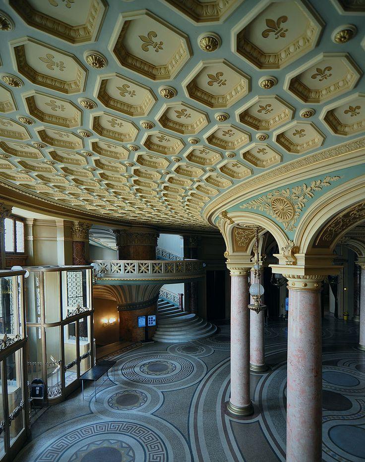 Romanian Athenaeum interior